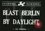 Image of Eighth Air Force Berlin Germany, 1944, second 4 stock footage video 65675067063