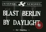 Image of Eighth Air Force Berlin Germany, 1944, second 5 stock footage video 65675067063