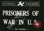 Image of German prisoners Michigan United States USA, 1944, second 1 stock footage video 65675067064