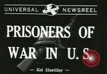 Image of German prisoners Michigan United States USA, 1944, second 2 stock footage video 65675067064