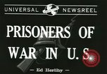 Image of German prisoners Michigan United States USA, 1944, second 3 stock footage video 65675067064