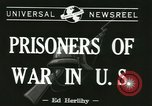 Image of German prisoners Michigan United States USA, 1944, second 4 stock footage video 65675067064