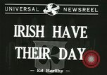 Image of Saint Patrick's Day New York United States USA, 1944, second 2 stock footage video 65675067068