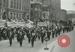 Image of a parade Milwaukee Wisconsin USA, 1944, second 8 stock footage video 65675067072