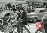Image of a parade Milwaukee Wisconsin USA, 1944, second 12 stock footage video 65675067072