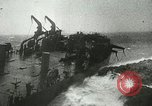 Image of USS LST-349 founders on rocks off Ponza Italy in storm Italy, 1944, second 6 stock footage video 65675067074