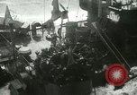 Image of USS LST-349 founders on rocks off Ponza Italy in storm Italy, 1944, second 11 stock footage video 65675067074