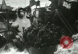 Image of USS LST-349 founders on rocks off Ponza Italy in storm Italy, 1944, second 12 stock footage video 65675067074