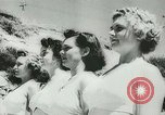Image of women life guards New South Wales Australia, 1944, second 8 stock footage video 65675067082
