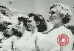 Image of women life guards New South Wales Australia, 1944, second 9 stock footage video 65675067082