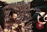 Image of M1A1 155mm gun Peleliu Palau Islands, 1944, second 5 stock footage video 65675067107