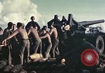 Image of M1A1 155mm gun Peleliu Palau Islands, 1944, second 12 stock footage video 65675067107
