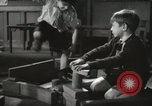 Image of Kindergarten New York City USA, 1945, second 7 stock footage video 65675067141