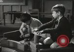 Image of Kindergarten New York City USA, 1945, second 8 stock footage video 65675067141