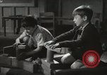 Image of Kindergarten New York City USA, 1945, second 9 stock footage video 65675067141