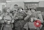 Image of U.S. Army Rangers boarding British landing craft  Weymouth England, 1944, second 6 stock footage video 65675067145