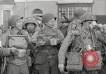 Image of U.S. Army Rangers boarding British landing craft  Weymouth England, 1944, second 9 stock footage video 65675067145