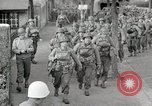 Image of U.S. Army Rangers preparing for the D-Day invasion in World War II Weymouth England, 1944, second 1 stock footage video 65675067146