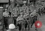 Image of U.S. Army Rangers preparing for the D-Day invasion in World War II Weymouth England, 1944, second 2 stock footage video 65675067146
