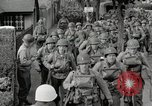 Image of U.S. Army Rangers preparing for the D-Day invasion in World War II Weymouth England, 1944, second 3 stock footage video 65675067146