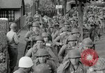 Image of U.S. Army Rangers preparing for the D-Day invasion in World War II Weymouth England, 1944, second 6 stock footage video 65675067146