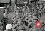 Image of U.S. Army Rangers preparing for the D-Day invasion in World War II Weymouth England, 1944, second 7 stock footage video 65675067146