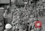 Image of U.S. Army Rangers preparing for the D-Day invasion in World War II Weymouth England, 1944, second 8 stock footage video 65675067146