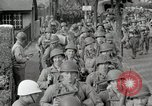 Image of U.S. Army Rangers preparing for the D-Day invasion in World War II Weymouth England, 1944, second 9 stock footage video 65675067146