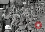 Image of U.S. Army Rangers preparing for the D-Day invasion in World War II Weymouth England, 1944, second 11 stock footage video 65675067146