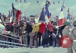 Image of 30th anniversary D-Day Normandy France, 1974, second 2 stock footage video 65675067153