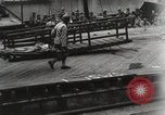 Image of naval activity English Channel, 1944, second 4 stock footage video 65675067156