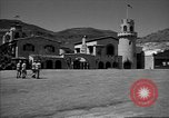 Image of Scottys Castle at Death Valley California California United States USA, 1955, second 5 stock footage video 65675067160