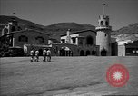 Image of Scottys Castle at Death Valley California California United States USA, 1955, second 7 stock footage video 65675067160