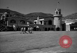 Image of Scottys Castle at Death Valley California California United States USA, 1955, second 8 stock footage video 65675067160
