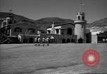 Image of Scottys Castle at Death Valley California California United States USA, 1955, second 9 stock footage video 65675067160