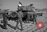 Image of armored combat training Mojave California USA, 1955, second 2 stock footage video 65675067161