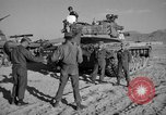 Image of armored combat training Mojave California USA, 1955, second 3 stock footage video 65675067161