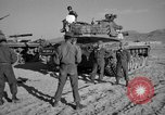 Image of armored combat training Mojave California USA, 1955, second 4 stock footage video 65675067161