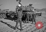 Image of armored combat training Mojave California USA, 1955, second 8 stock footage video 65675067161