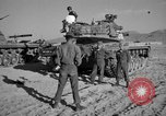 Image of armored combat training Mojave California USA, 1955, second 9 stock footage video 65675067161