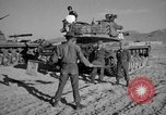 Image of armored combat training Mojave California USA, 1955, second 11 stock footage video 65675067161