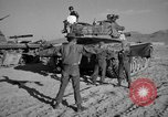 Image of armored combat training Mojave California USA, 1955, second 12 stock footage video 65675067161