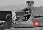 Image of armored combat training Mojave California USA, 1955, second 2 stock footage video 65675067162