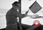 Image of armored combat training Mojave California USA, 1955, second 4 stock footage video 65675067163