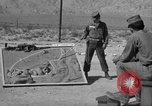 Image of armored combat training Mojave California USA, 1955, second 12 stock footage video 65675067164