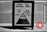 Image of armored combat training Mojave California USA, 1955, second 3 stock footage video 65675067166