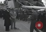 Image of Dwight David Eisenhower Mediterranean Sea, 1951, second 9 stock footage video 65675067176