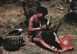 Image of native man Pacific Theater, 1945, second 2 stock footage video 65675067201