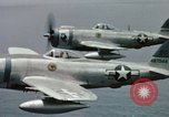 Image of P-51 Mustang Mariana Islands, 1945, second 6 stock footage video 65675067210
