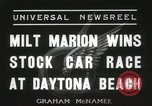 Image of car race Daytona Beach Florida USA, 1936, second 1 stock footage video 65675067246